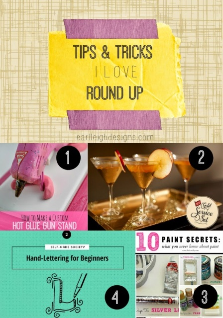Tips and Tricks I Love via Earl-Leigh Designs